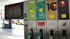 Gasolina con diferentes octanajes