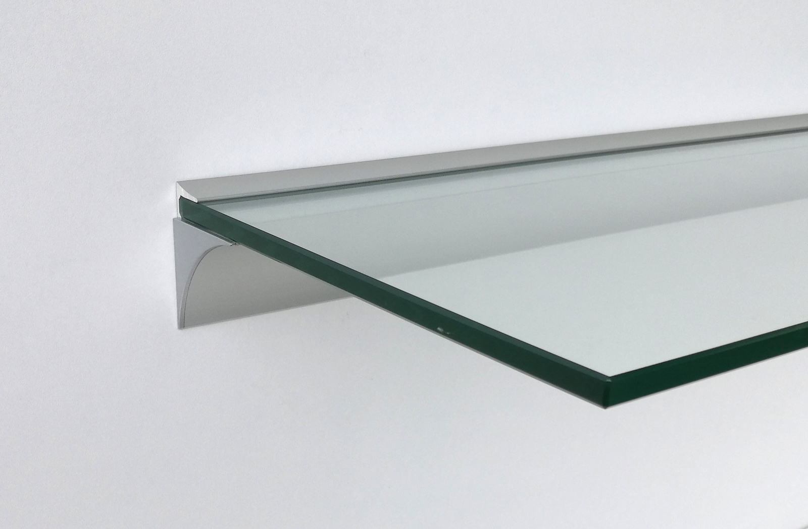 Glasregal Profil Glasregale 8mm Klarglas Esg Mit Wandprofil Regale4you Shop
