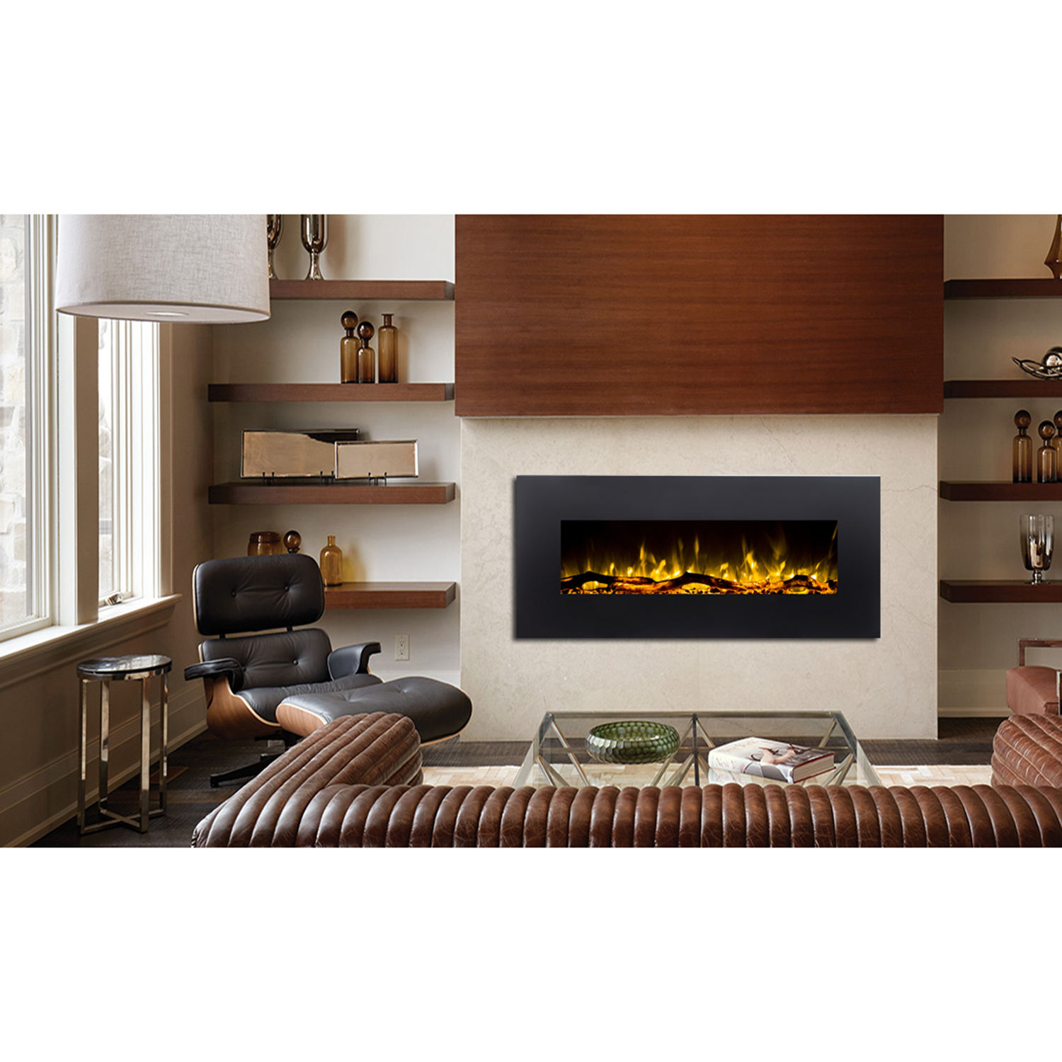 Ventless Wall Mount Gas Fireplace Ashford 50 Inch Black Ventless Heater Electric Wall