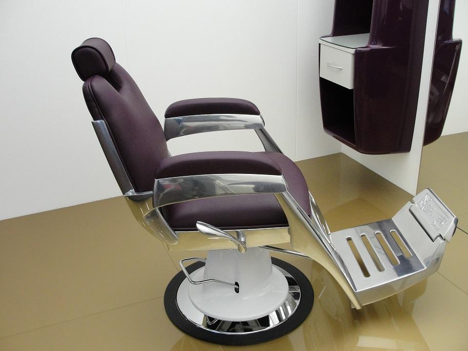 Amazing Ceriotti Jupiter 388 Barber Chair Regal Hair Salon Supply