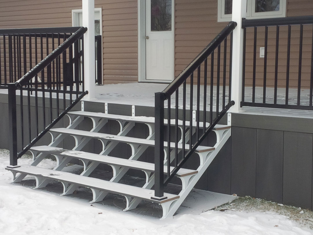 Regal Idee Quickstep Complete Outdoor Stair System