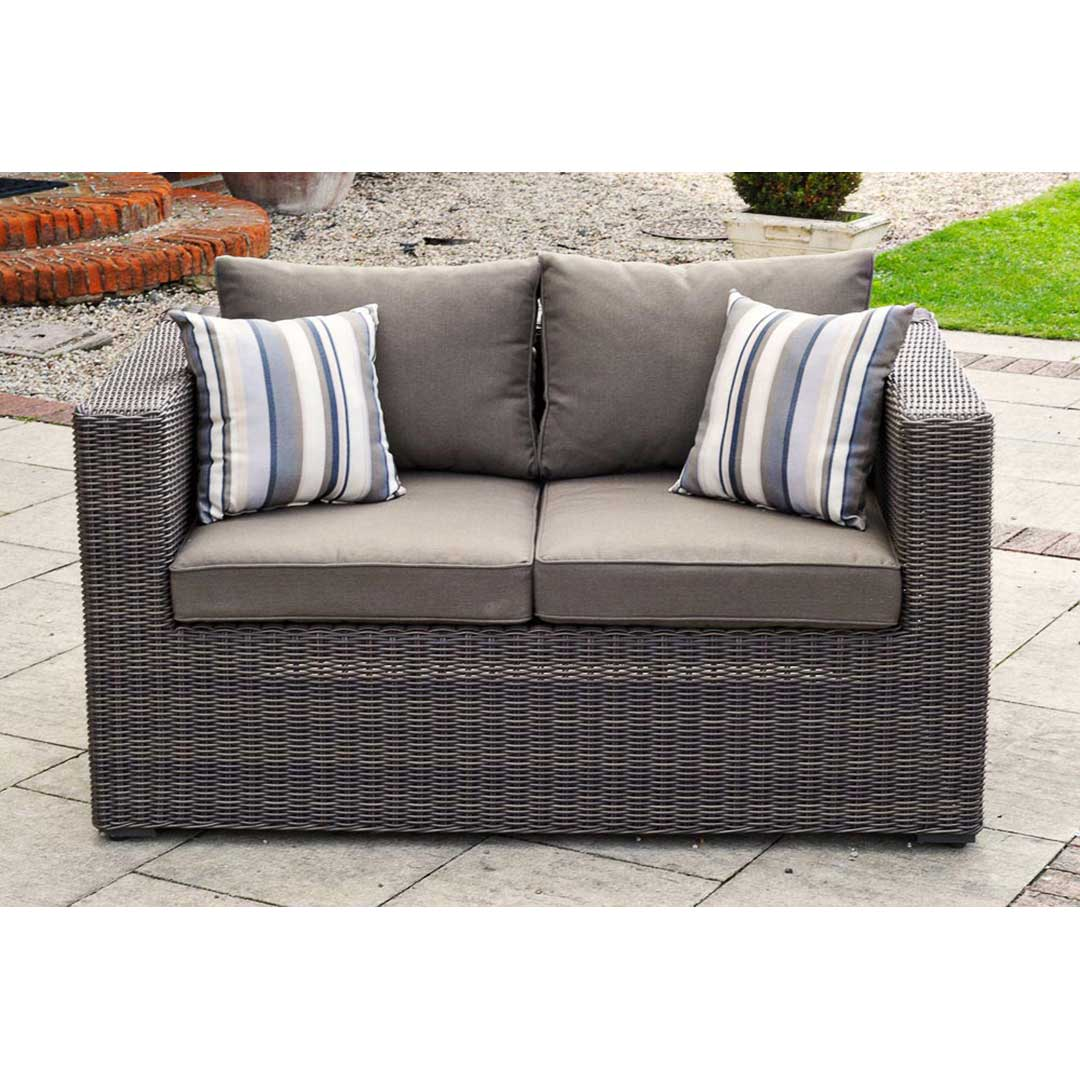 2 Seater Rattan Sofa Cushions Outdoor Rattan Sofa Sets