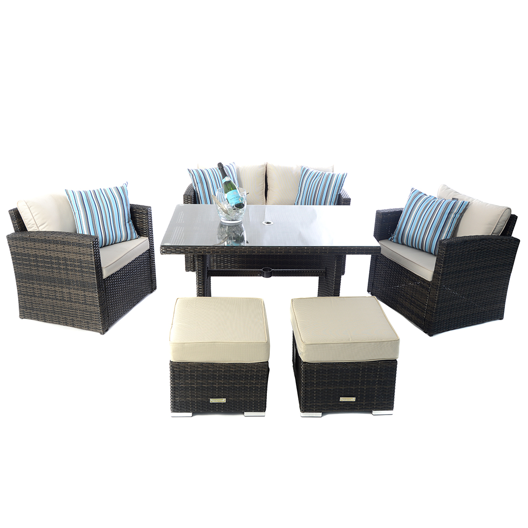 Lounge Set Rattan Outdoor Rattan Sofa Sets