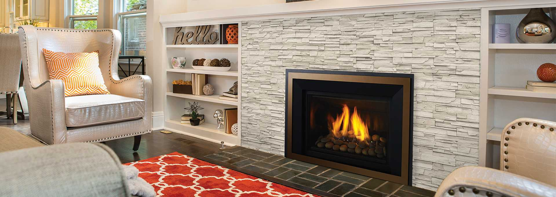 Fire Stones For Fireplace Large Gas Fireplace Insert Regency Horizon Hri6e