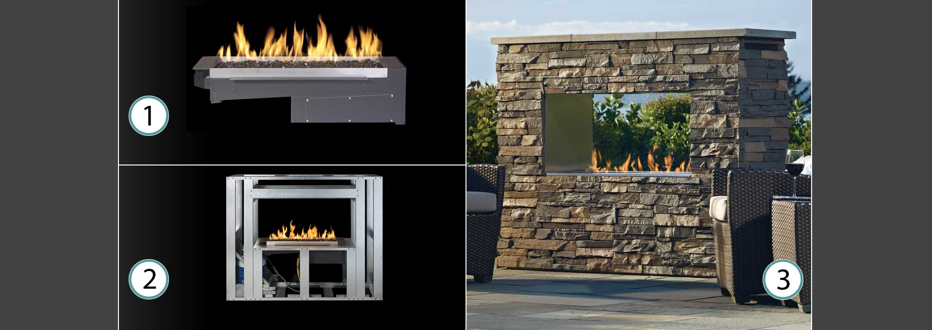 Outdoor Gas Fireplaces Outdoor Gas Fireplaces Firepits Firetables Regency Fireplace