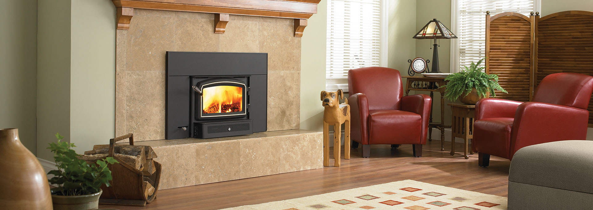 Insert Double Combustion Wood Fireplace Insert Classic I1200 Regency Fireplace Products