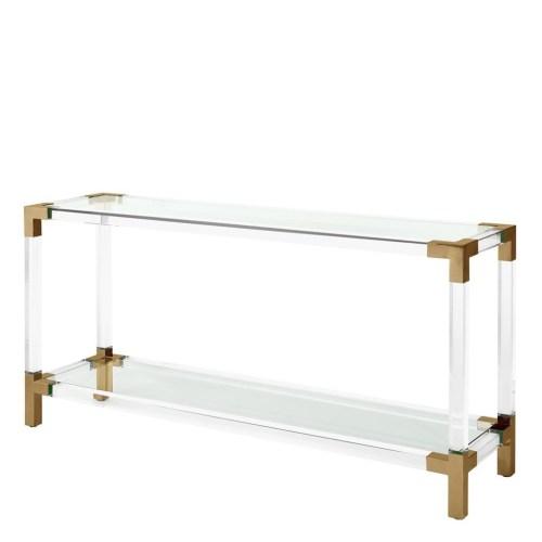 Medium Of Acrylic Console Table