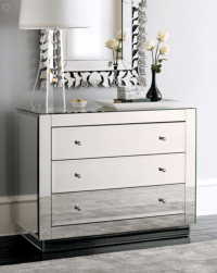 Alicia Mirrored Chest | SHOP NOW