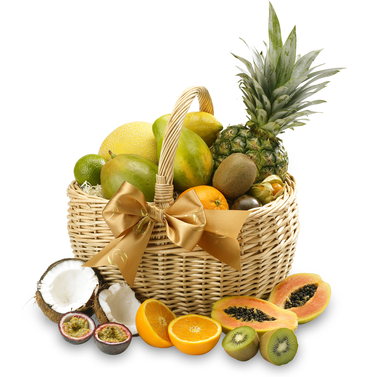 Fruit Baskets Exotic Fresh Fruit Gift Basket Regency Hampers