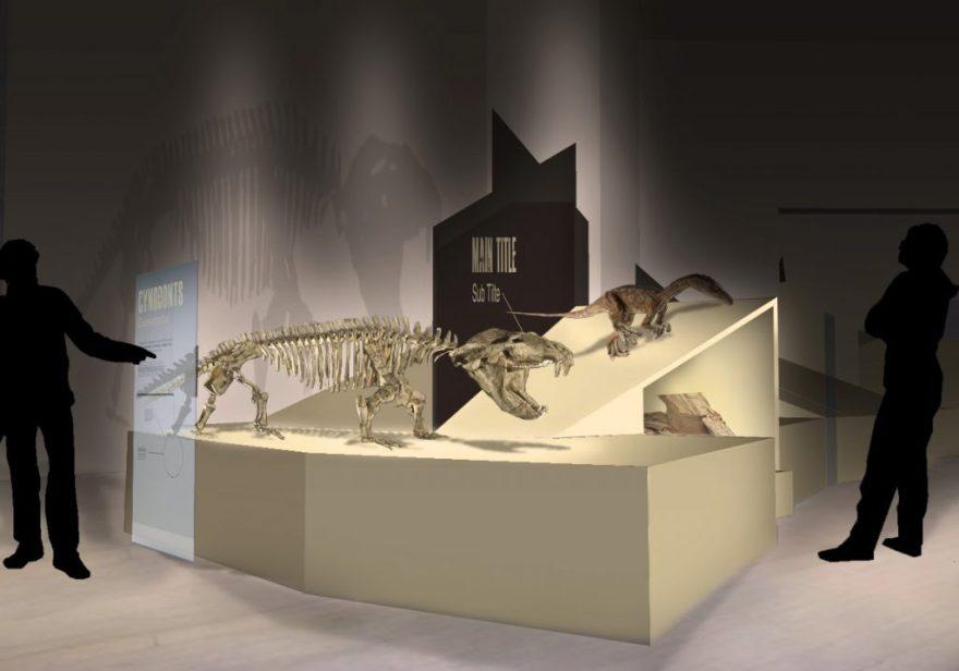 Propuesta exposición Dinosaurs Drawn from stone