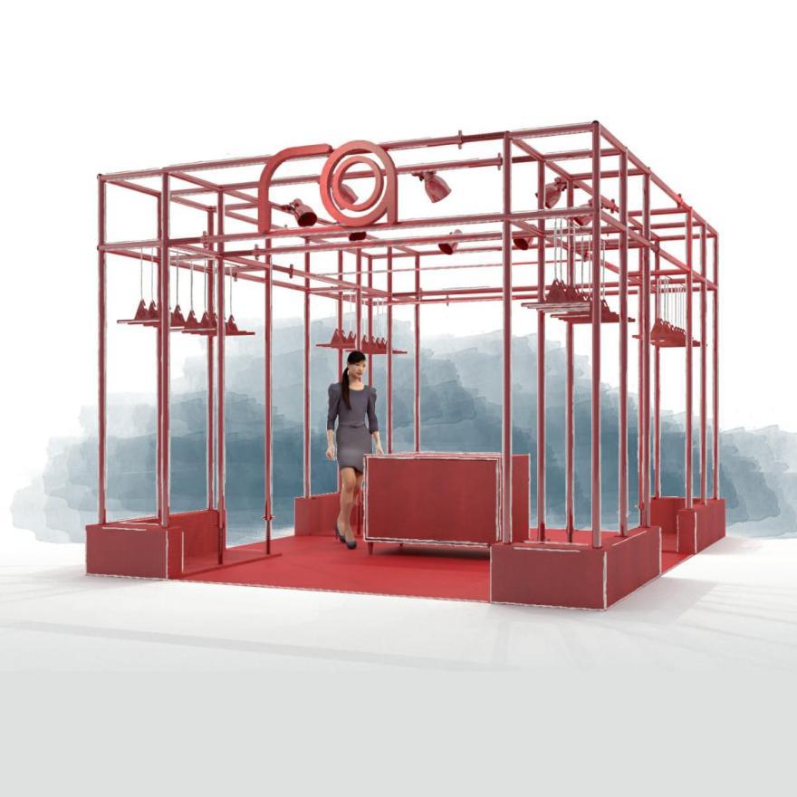 Espacios expositivos. Diseño de Stands