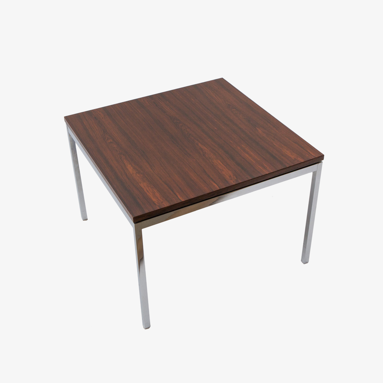 Knoll Table Florence Knoll Rosewood And Chrome Side Table 1950 S