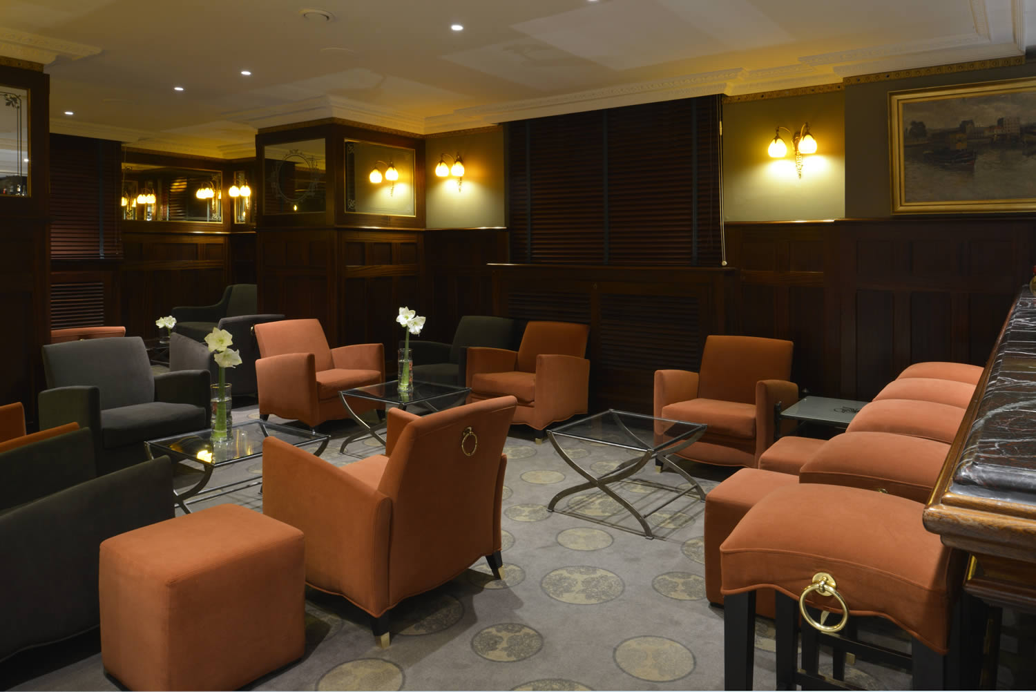 Petit Bar De Salon Salon And Bar Hotel Strasbourg Hôtel Régent Contades En