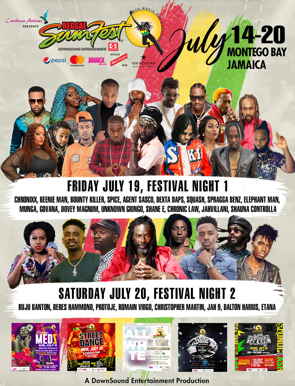 Stage Black Friday In July 2019 Ad Deals And Sales Reggae Sumfest Our Music Our Festival