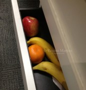 A drawer full of fruit - I just couldn't resist this one - it's my colleague's drawer at work, full of fruit.
