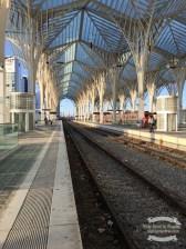 Gare do Oriente railway station in Lisbon ©2016 Regina Martins