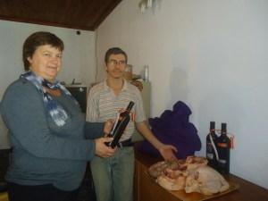 Norma Fuchinecco ganadora de la rifa