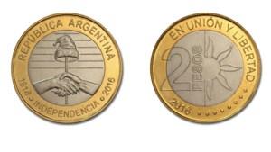 moneda dos pesos