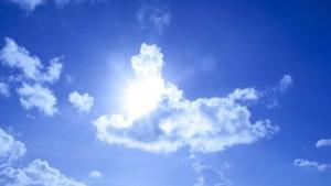 nubes calor