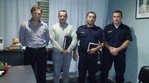 nuevas autoridades policiales en los charruas