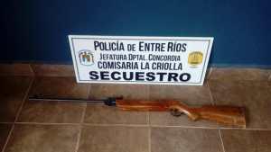 secuestro arma la criolla