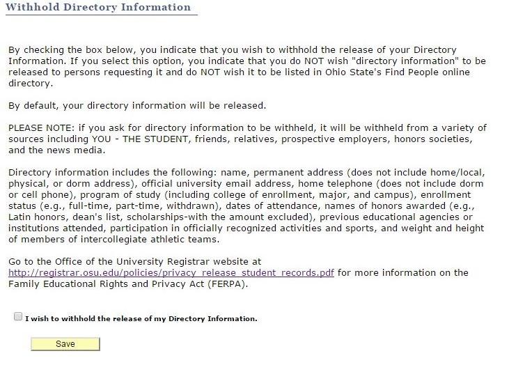 Release of Student Information - College Registrar Sample Resume