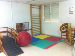 Imagen de la Sala de Terapia II. Zona de Rehabilitación Infantil