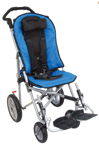 Lightweight Stroller All Terrain Convaid Ez Rider Standard Wheelchair Free Shipping