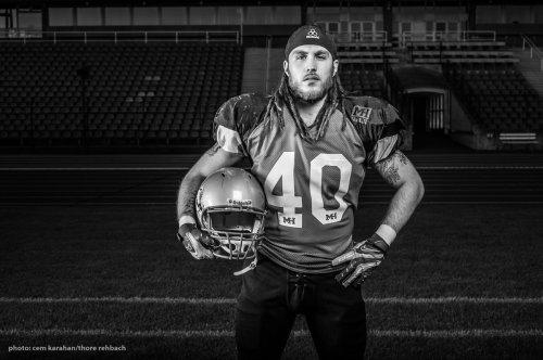 American Football Portrait