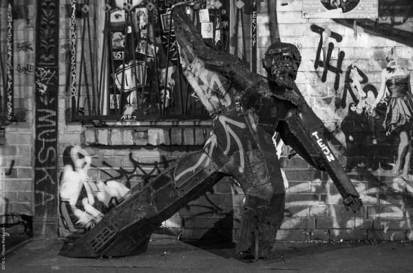 Streetart in der Dircksenstrasse