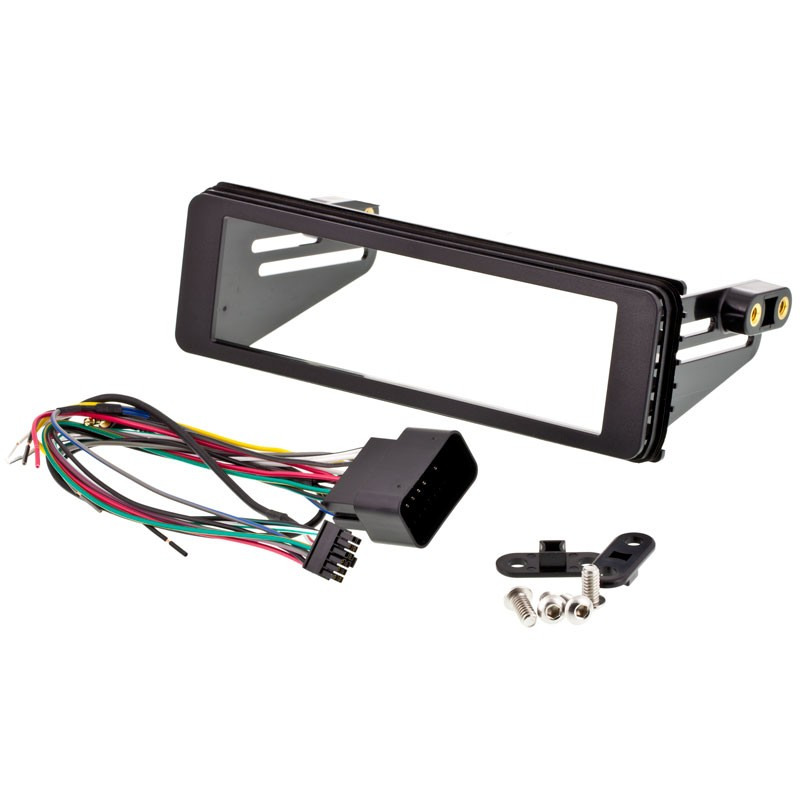 Harley FLHX Install DIN Kit /Thumb Module , Bluetooth Car Radio