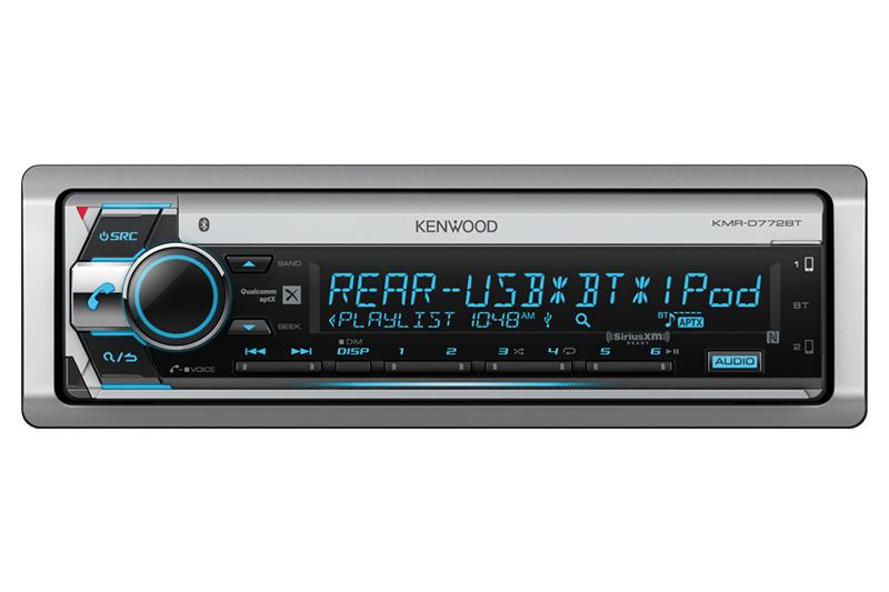 Bluetooth CD Marine Kenwood Radio/Remote, 8\