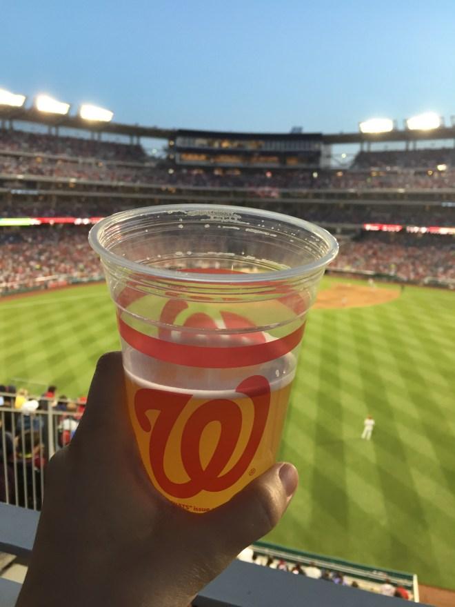 nats stadium baseball game view_Reidmore