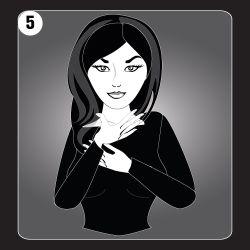 Reiki Hand Position 5