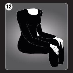 Reiki Hand Position 12