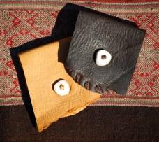 Medicine Bag with Antler Button Close www.reikishamanic.com