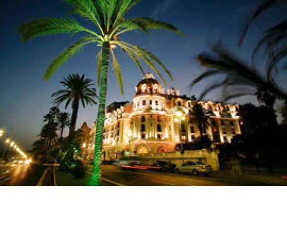 France, Cote d´Azur, Nice, Hotel Negresco at the Promenade des Anglais