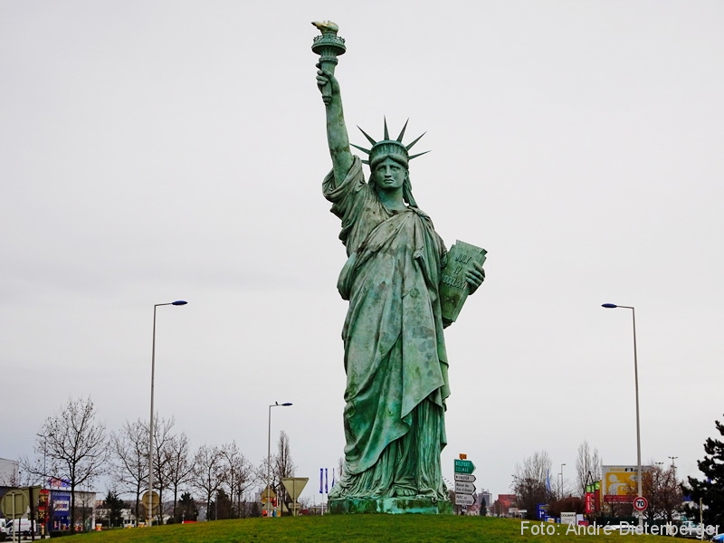 Colmar - Auguste Bartholdi - Statue of Liberty