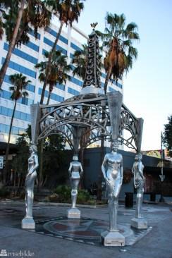 Hollywood-statue i Los Angeles