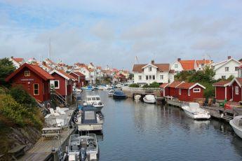 Sykkeltur i vest-sverige, Grundsund, sykkeltur til skaftö