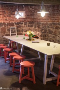 Kaféen på Lonna tilbyr rimeligere retter enn restauranten