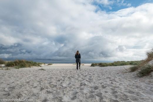 Dueopdde sandstrand