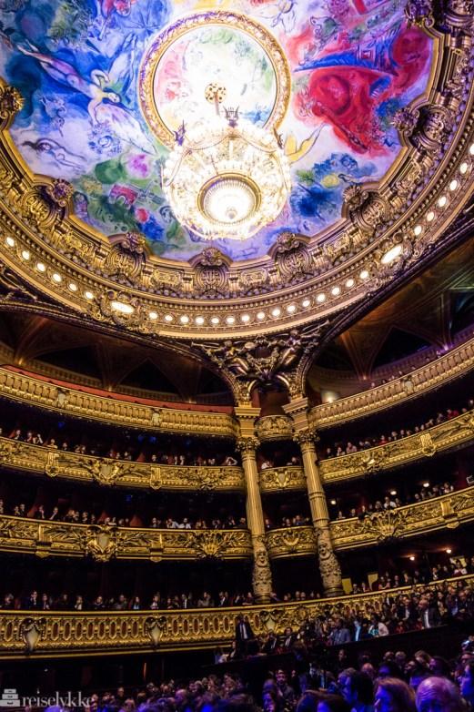 Chagall takmaleri, Palais Garnier i Paris
