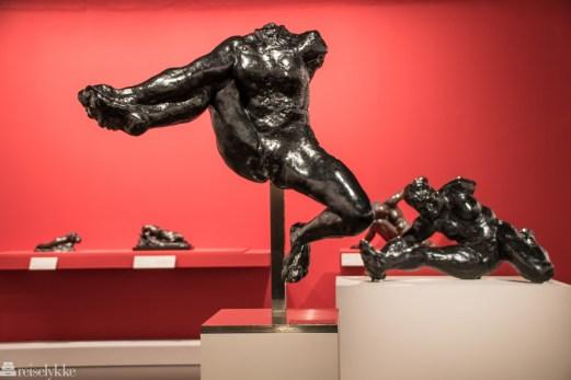 Fra Rodin-utstillingen i Paris våren 2017
