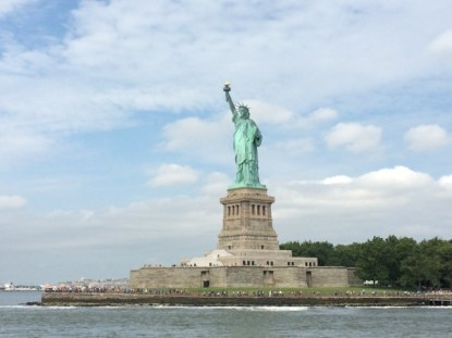Statue of Liberty, sights in New York