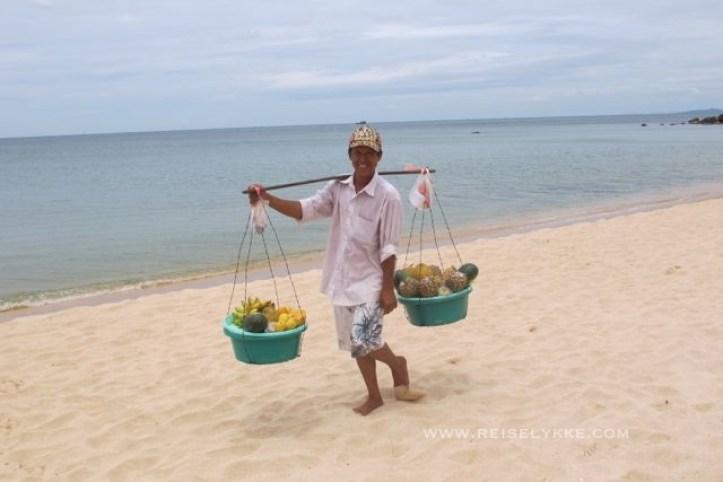Min faste fruktleverandør på Phu Cuoc Foto: Reiselykke