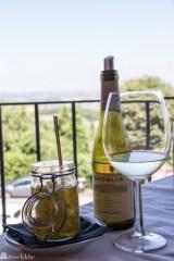Trattoria Panoramica_lokal ost og hvitvin