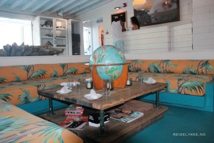 Montauk, Long Island, The Surflodge, dining