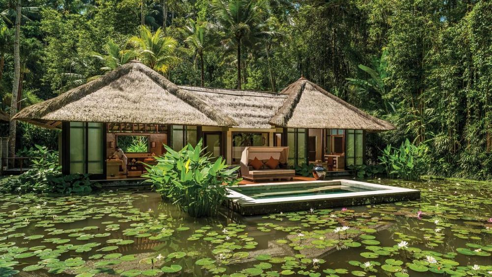 Four Seasons Resort Bali At Sayan - Doppelwaschbecken Lutz