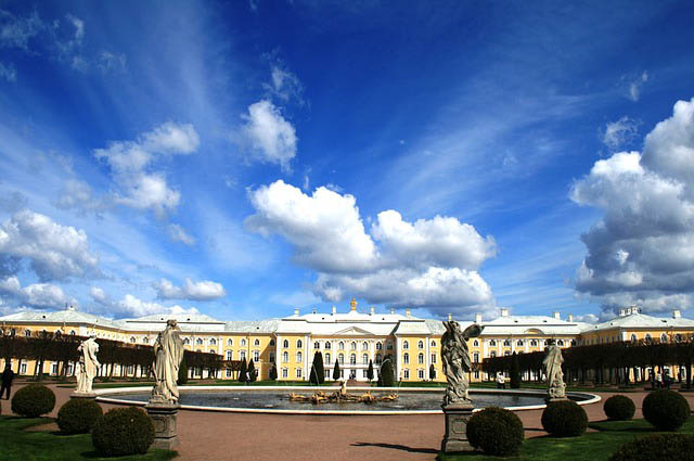 Palace St Petersburg Russland